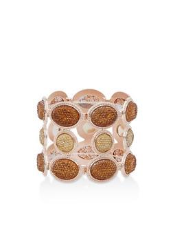 Rhinestone Stretch Bracelet - 3194072692605