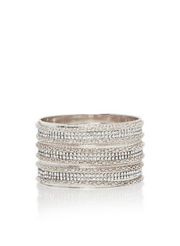 Rhinestone Bangle Trio - 3194072692783