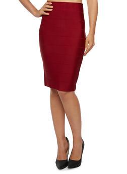 Bandage Midi Skirt - 3290068197097
