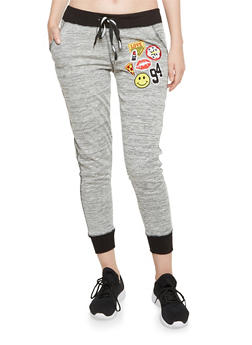 Joggers with Mixed Patches - 3291063402967