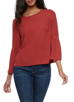 Bell Sleeve Blouse - 3401054213194