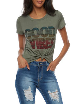 Good Vibes Graphic T Shirt - 3402061359779