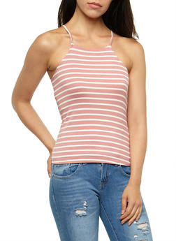 Striped Tank Top - 3402066491660