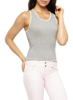 Striped Tank Top - 3402066493029