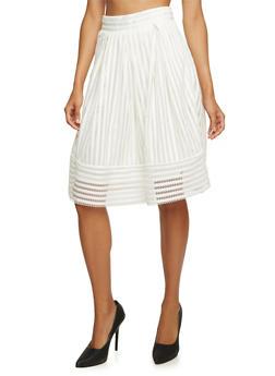 Full Eyelet Skirt - 3406069395008