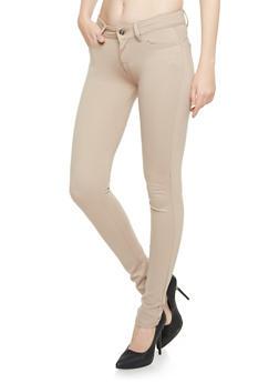 Five Pocket Knit Skinny Pants - 3407062700018
