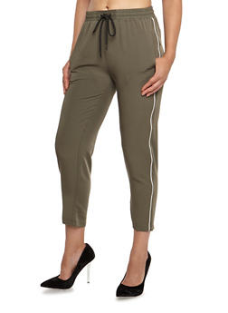 Cropped Athletic Pants - 3407068192030