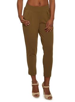 Shinestar High Waisted Cropped Pants - 3407068199790
