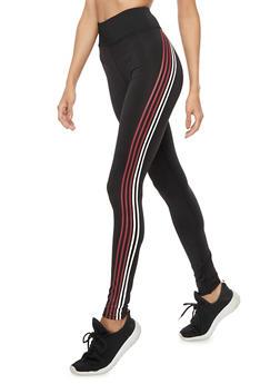 5 Stripes Leggings - 3407072291871