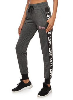 Love Graphic Joggers - 3407072291921