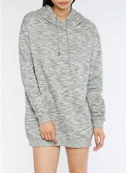 Hooded Sweatshirt Dress - 3410054211068