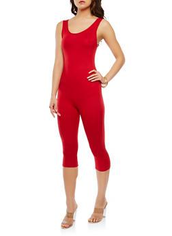 Soft Knit Capri Catsuit - 3410072240144