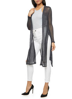 Long Sleeve Lightweight Cardigan - 3414054212561