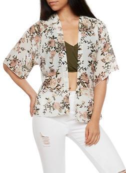 Floral Kimono - IVORY - 3414061351251