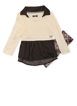 Toddler Girls Dress and Leggings Set - 3505061957488