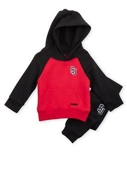Toddler Boys Sean John Raglan Hoodie and Joggers - 3516072757139
