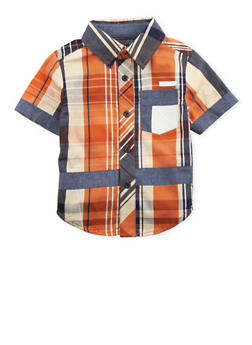 Toddler Boys Sean John Button-Up Shirt - 3524072751020