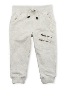 Toddler Boys Sean John Joggers with Double Zip Pocket - 3524072751044