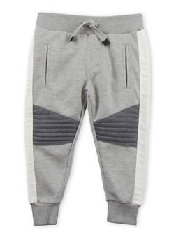 Toddler Boys Sean John Heathered Joggers with Welt Pockets - 3524072751046