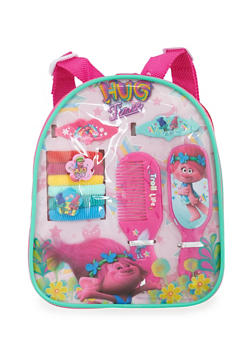 Trolls Hug Time Mini Backpack with Hair Accessories - 3590049040180