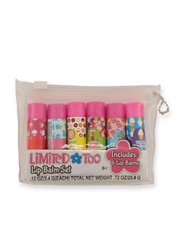 Girls Limited Too Set of 6 Lip Balms - 3594049040011