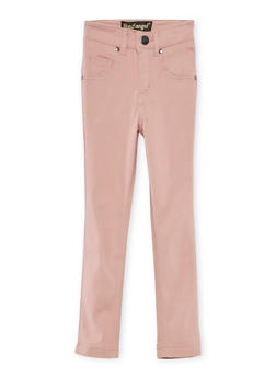 Girls 4-6x Solid Stretch Pants - 3601056570002