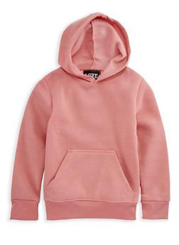 Girls 4-6x Pullover Long Sleeve Hoodie - 3605063400012