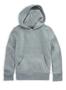Girls 7-16 Long Sleeve Pullover Hoodie - 3606063400009
