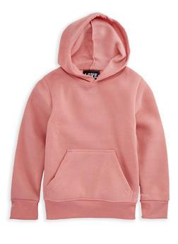 Girls 7-16 Long Sleeve Pullover Hoodie - 3606063400012