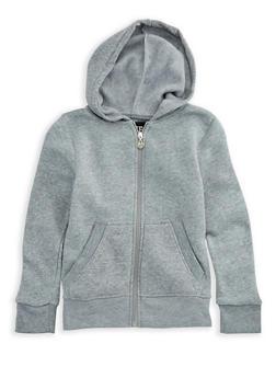 Girls 7-16 Zipper Front Hoodie - 3606063400016