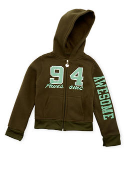Girls 4-6x Awesome 94 Graphic Hoodie - 3611063401114