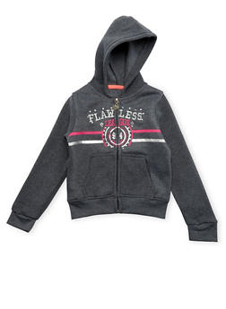 Girls 4-6x Hoodie with Flawless Graphic - 3611063401124
