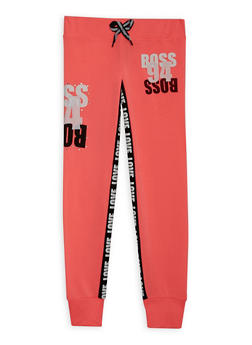 Girls 4-6x Boss 94 Graphic Joggers - 3611063401131