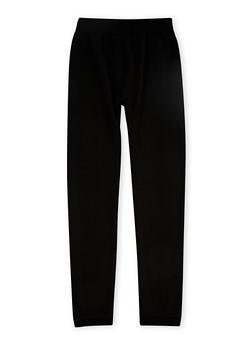 Girls 7-16 Fleece Lined Leggings - 3619054730005