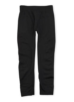 Girls 7-14 Fleece Lined Leggings - 3619069020010