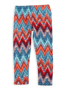 Girls 4-6x Printed Leggings - 3620061950026
