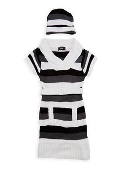 Girls 7-16 Ivy Fold Over V Neck Sweater Dress - 3625038340056