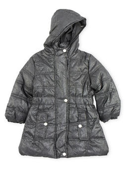 Girls 4-6x Hooded Puffer Coat - 3626071520025