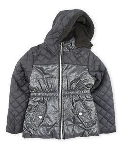 Girls 7-16 Hooded Puffer Jacket - 3627071520007