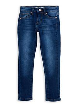 Girls 4-6x Classic Skinny Jeans - MEDIUM WASH - 3628056720014