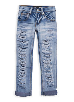 Girls 4-6x Ripped Jeans - 3628063400003