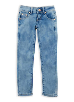 Girls 4-6x Cloud Wash Denim Jeans - 3628073420004