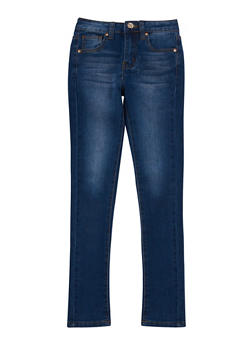 Girls 7-16 Skinny Jeans - MEDIUM WASH - 3629056720010