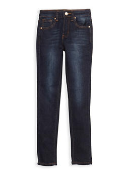 Girls 7-16 Skinny Jeans - DARK WASH - 3629056720010