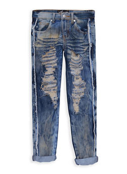 Girls 7-16 Ripped Skinny Jeans - 3629063400014