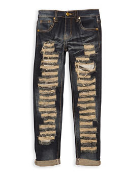 Girls 7-16 Dark Wash Jeans - 3629063400022