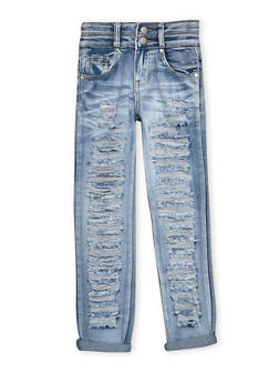 Girls 7-16 Destroyed Jeans - 3629063400023