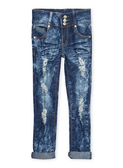 Girls 7-16 Acid Wash Jeans - 3629063400024