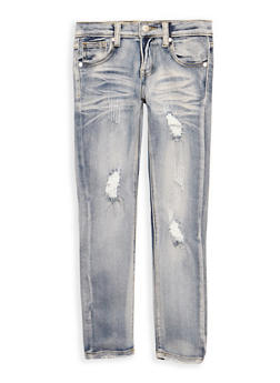 Girls 7-16 Light Wash Jeans - 3629063400025