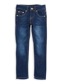 Girls 7-16 Dark Wash Skinny Jeans - 3629073420001